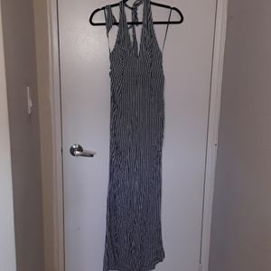 BNOT striped halterneck jumpsuit